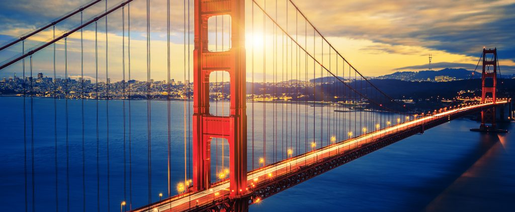 California, golden gate bridge, San Francisco