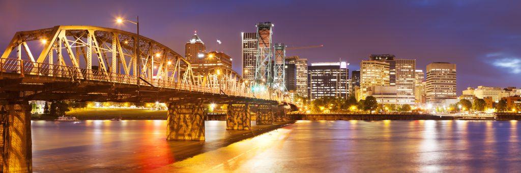Portland, Oregon, open a vegan restaurant, skyline, vegan capital, united states