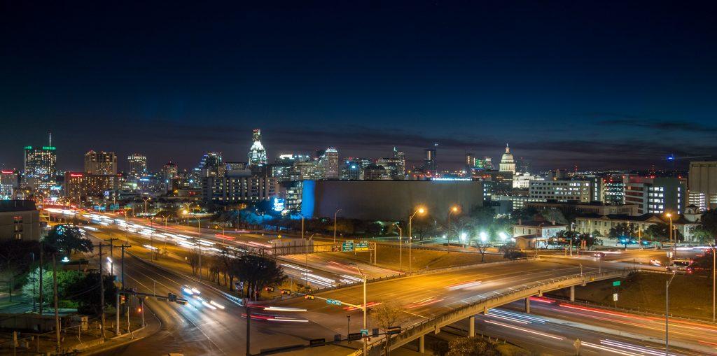 Noisiest Neighborhoods in Austin, Austin, night, traffic
