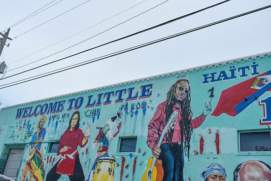 increasing property values, little Haiti
