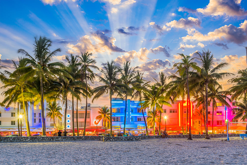 increasing property values, Miami beach