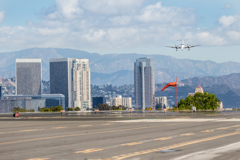 noisiest cities in Los Angeles, Santa Monica airport