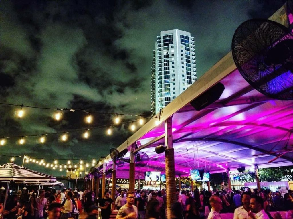Noisiest neighborhoods in Miami, Miami pier, Overtown, downtown Miami, nightlife