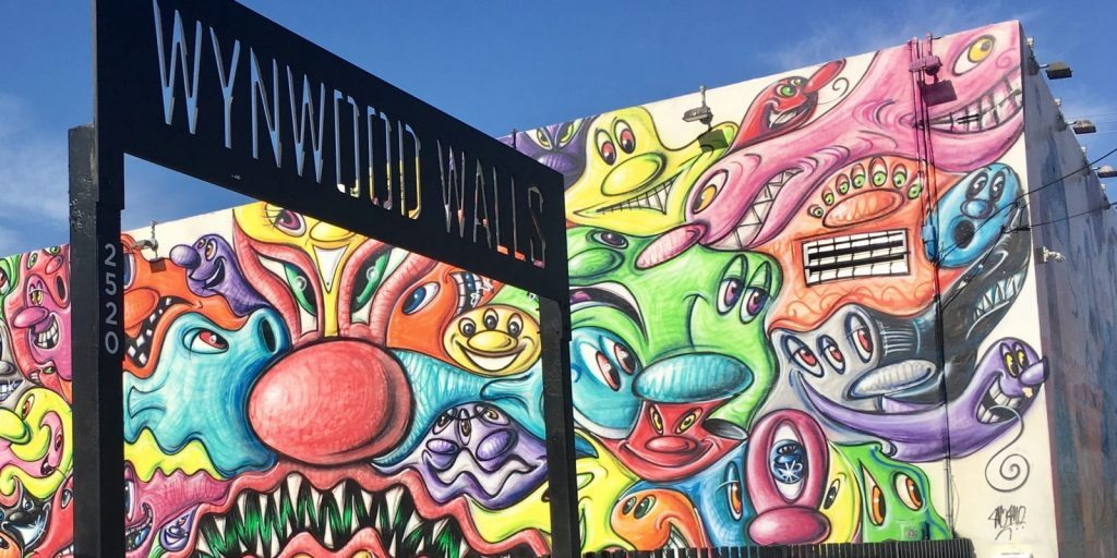 increasing property values, Wynwood district