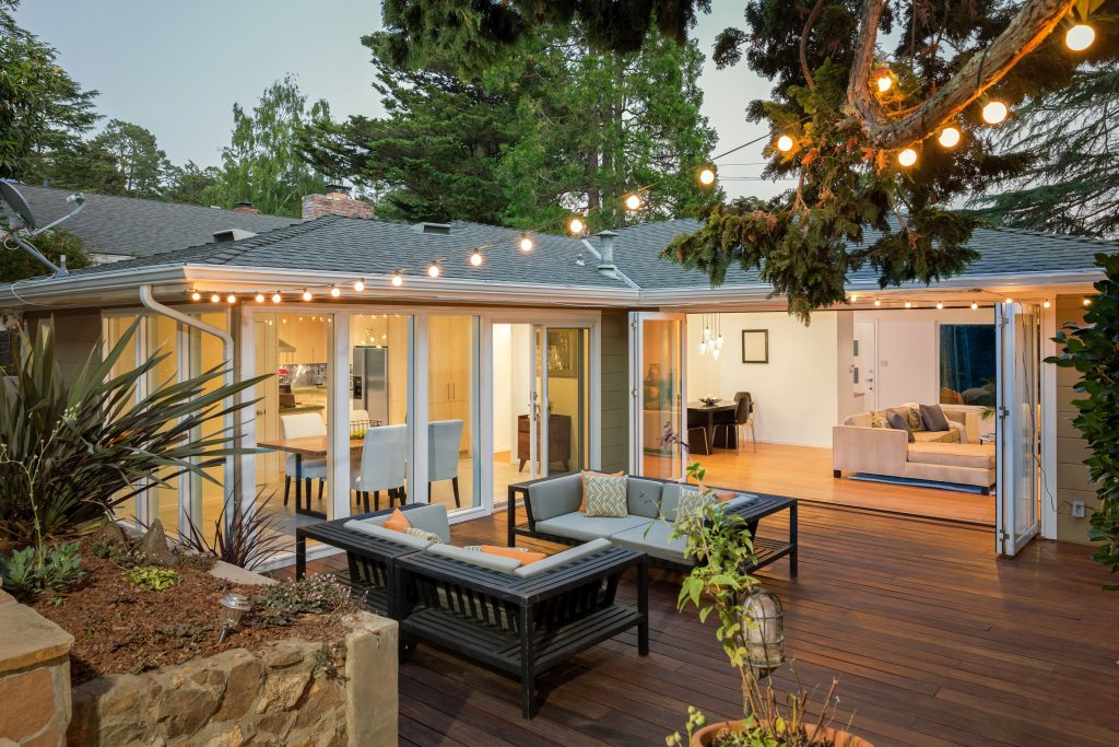 renting vs owning, backyard, patio, living space