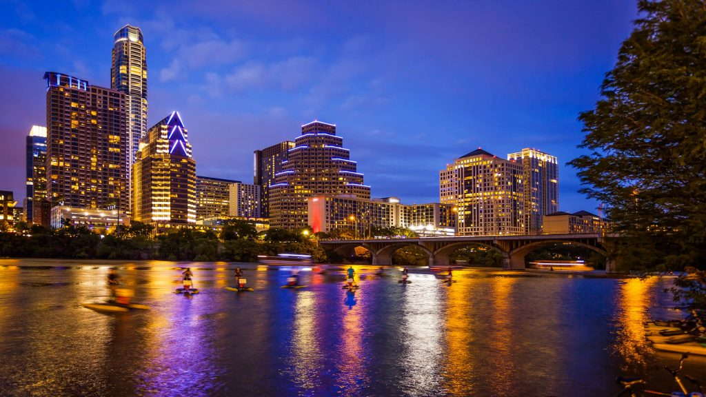 cities for young professionals, Austin