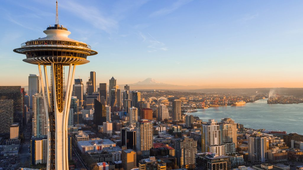 cities for young professionals, Seattle