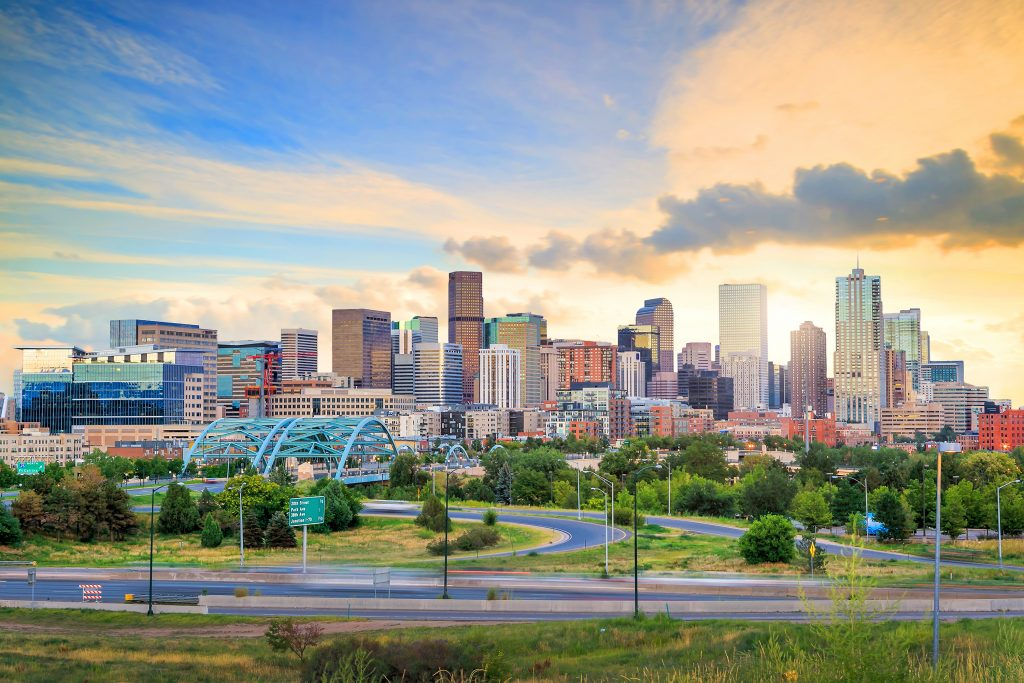 cities for young professionals, Denver