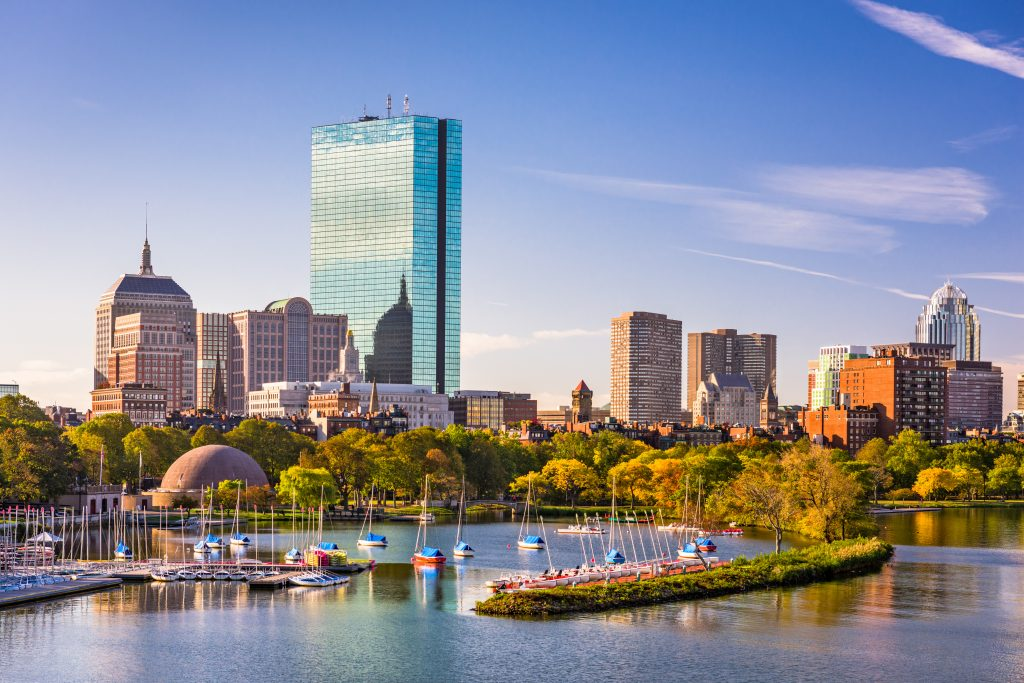 cities for young professionals, Boston
